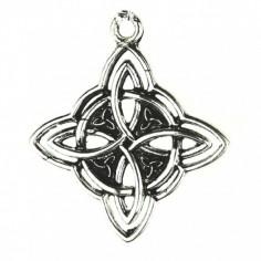 Anhänger Keltischer Quadrat-Knoten