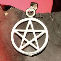 Anhänger Pentagramm 17 mm
