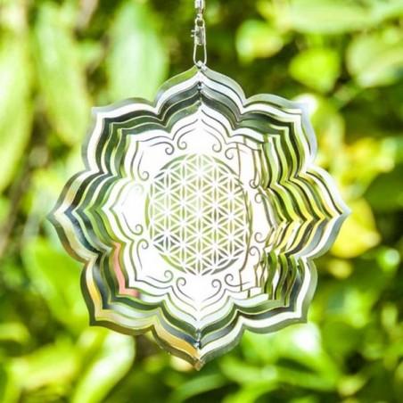 Blume des Lebens Lotus Mobile Ø 15 cm