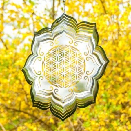 Blume des Lebens Lotus Mobile Ø 25 cm