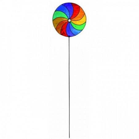 Blumenstecker Spirale