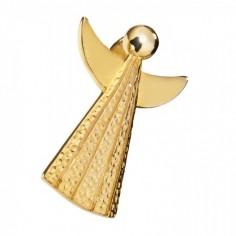 Engel der Kraft - vergoldet - Anhänger
