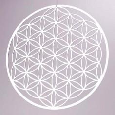Fensterbild Blume des Lebens 9,8 cm