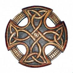 Keltisches Kreuz Wandsymbol