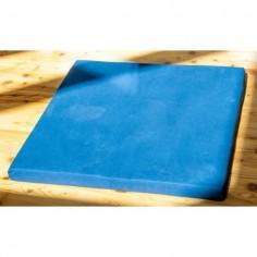 Meditationssitz Grundmatte dunkelblau mit Kokosnuss