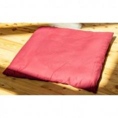 Meditationssitz Grundmatte weinrot mit Baumwolle