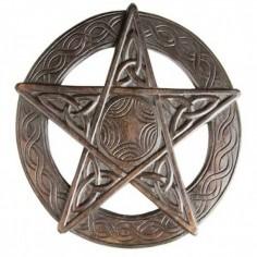 Pentagramm Wandsymbol
