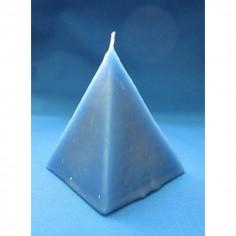 Pyramidenkerze blau Fast Luck (schnelles Glück) 7,5cm