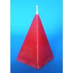 Pyramidenkerze rot Love Drawing (Liebe anziehen) 8,5 cm