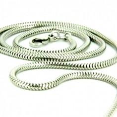 Schlangenkette Silber Ø 1,6 mm