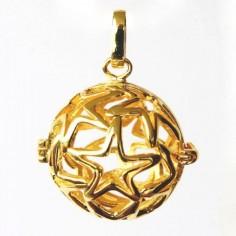 Tresor-Anhänger Sterne vergoldet