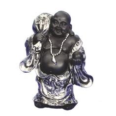 Happy-Buddha Polyresin stehend 20cm