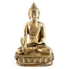 Medizinbuddha 20cm Messing
