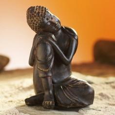 Bikkhu 13cm Polyresin Buddha