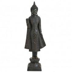 Buddha 45cm Polyresin stehend