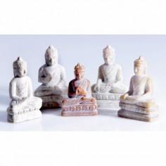 Dhyani Buddhas 6,5cm Speckstein 5er Set