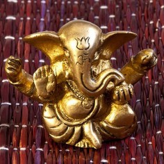 Ganesha 5cm Messing