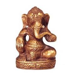 Ganesha 6,5cm Messing