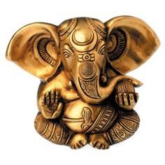 Ganesha 13cm Messing