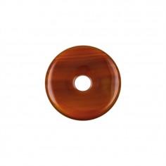 Carneol 30mm Donut