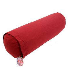 Yoga Bolster rund - rot