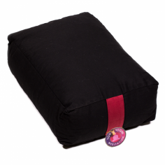 Yoga Bolster rechteckig schwarz