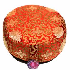 Lotus Design Meditationskissen rot