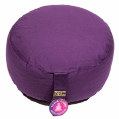 Meditationskissen dunkelviolett