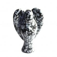Engel 43mm Schneeflocken Obsidian