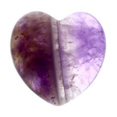 Herz 25mm Amethyst