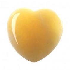 Herz 25mm Aragonit