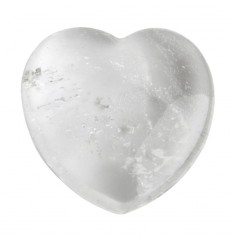 Herz 25mm Bergkristall