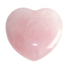 Herz 25mm Rosenquarz