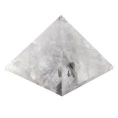 Pyramide 60mm Bergkristall