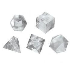 Bergkristall 3cm Platonische Körper