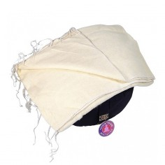 Schal für die Meditation - natur