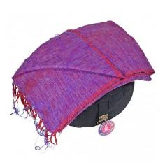 Schal für die Meditation - violett
