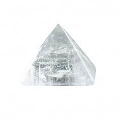 Pyramide 40mm Bergkristall