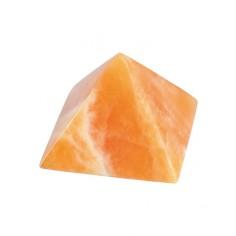 Pyramide 40mm Orangencalcit