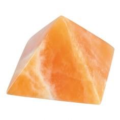 Pyramide 100mm Orangencalcit