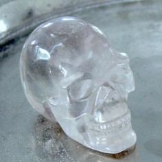 Kristallschädel aus Bergkristall 590 g