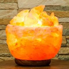 Salzkristall Lampe Atmosphäre