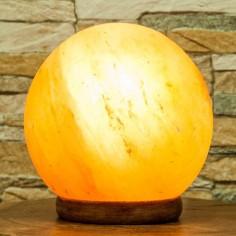Salzkristall Lampe Kugel