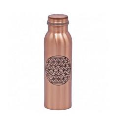 Kupferflasche 7.5 dl Blume des Lebens