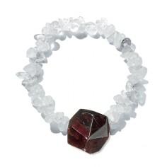 Granat-Kristall Wandlung - Kristall-Harmonie-Band