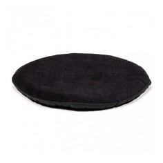 Kissen für Klangschale flach rund - schwarz 15 cm