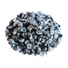 Schneeflocken Obsidian Trommelsteine 6-12 mm