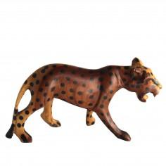 Leopard aus Holz