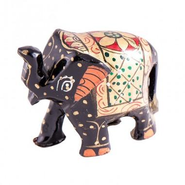 Glücks Elefant grosser Bruder 5 cm Holz