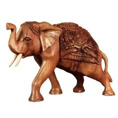 Indischer Elefant 21cm Soar-Holz